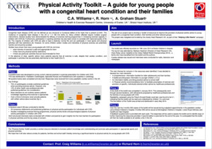 Physical Activity Toolkit – A guide for young people with a congenital heart condition and their families