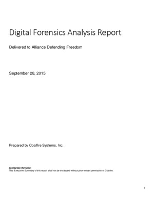 Planned Parenthood Forensic Analysis Report