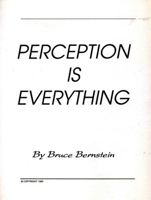 Bruce Bernstein - Perception Is Everything by flechalivros