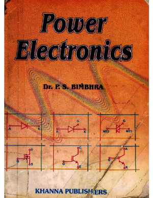 Power Electronics,DrPS BIMBHRAPDF