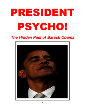 President Psycho_The Hidden History of Obama