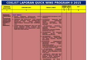 program-i quick wins