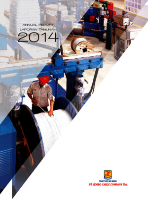 PT Jembo Cable Company Tbk - Annual Report 2014