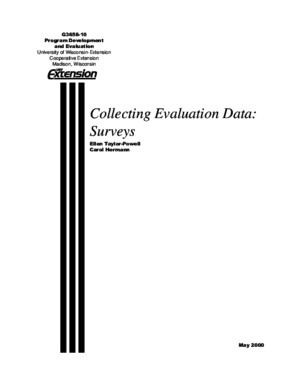 Questionnaire Design - Taylor-Powell 2000