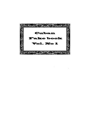 [Real Book] Cuban Fake Book