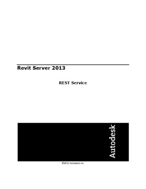 Revit Server REST API Reference