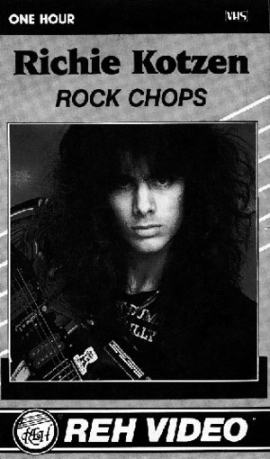 Richie Kotzen - Rock Chops Tab Book