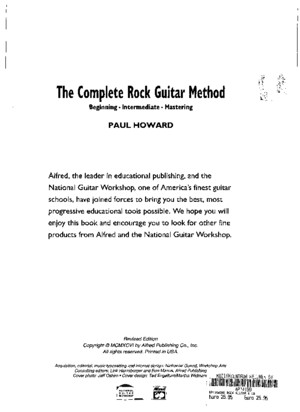 Rock Guitar i Howard Beginner