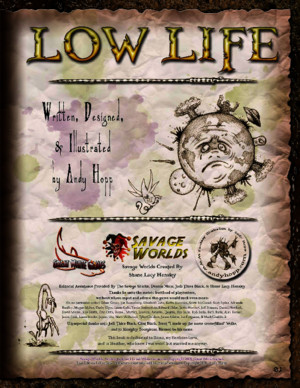 Savage Worlds - Low Life