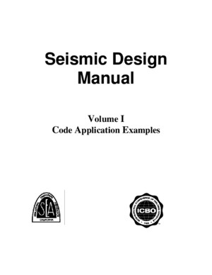 SEAOC Seismic Design Manual Examples