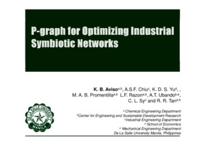 A Process Graph Approach to Industrial Symbiosis