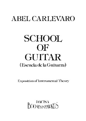 Abel Carlevaro - School of Guitarpdf