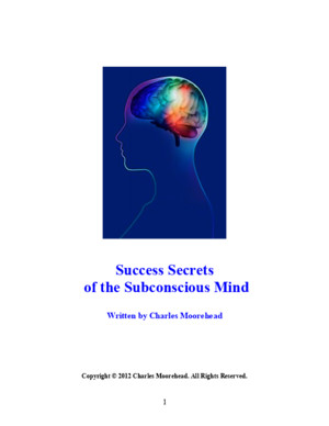 Secrets of the Subconscious Mind