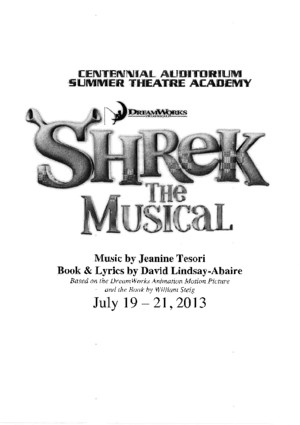 Shrek the Musical Script