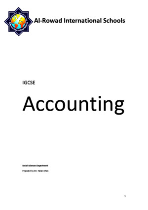 Accounting notes for IGCSEpdf