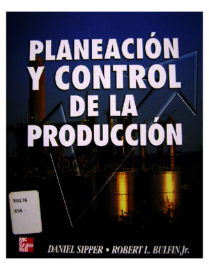 Planeacion Y Control De La Produccion Daniel Sipper Pdf Download