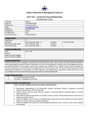 ACCT 221-Corporate Financial Reporting-Bila Zia