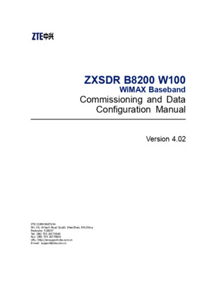SJ-20100712162153-003-ZXSDR B8200 W100(V402)WiMAX Baseband Commissioning and Data Configuration Manual