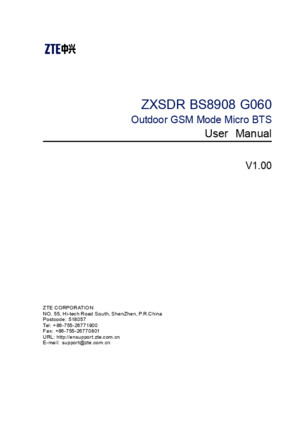 SJ-20101104174421-001-ZXSDR BS8908 G060 (V100) User Manual