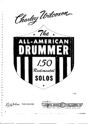 Snare Solo - Drum Methods - WILCOXON - 150 Rudimental Solos - By HMD
