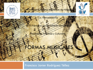 Act 36 Formas Musicales