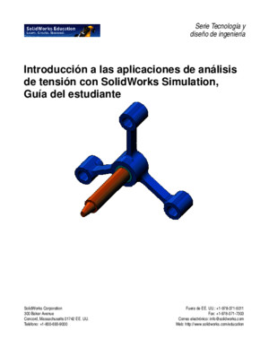 SolidWorks Simulation Student Guide