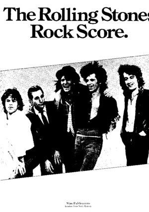 [Songbook] - The Rolling Stones Rock Score