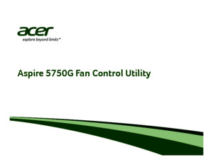 SOP AS5750G Fan Control Utility