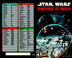 Star Wars Empire at War Manual