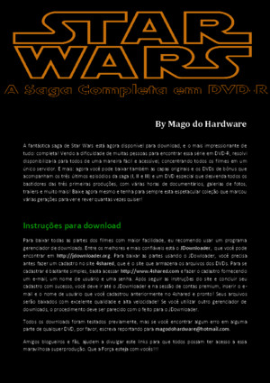 Star Wars - Saga Dvd-r