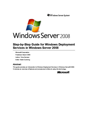 Step-By-Step Guide for Windows Deployment Services in Windows Server 2003