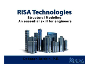 Structural Modeling With Risa