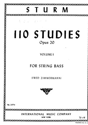 Sturm - 110 Studies for Contrabass VolI (1-55)