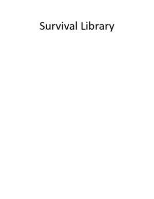 Survival Library