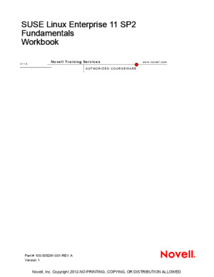 SUSE Linux 11 SP2 - Fundamentals Workbookpdf