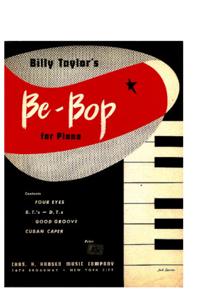 Taylor, Billy - Be Bop for Piano (1949)