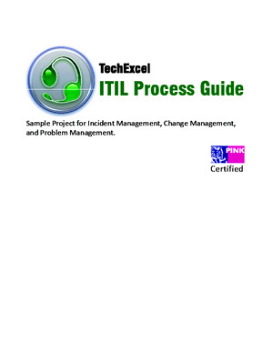 TechExcel ITIL Guide