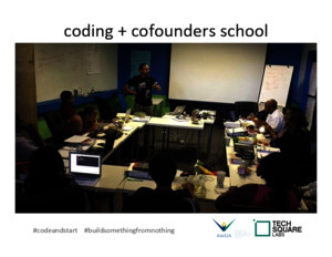 TechSquare Labs Atlanta Workforce Development Agency Code Start School Partner Deck