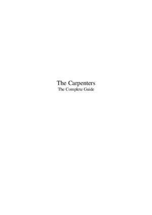 The Carpenterspdf