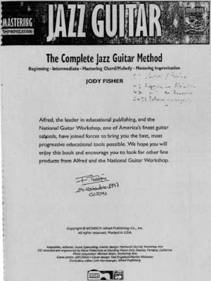 The Complete Jazz Guitar Method Vol4 - Mastering Improvisation