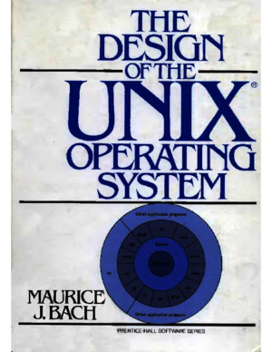 The design of Unix operating system by Maurice j Bachpdf