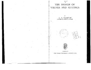 The Design Of Valves And Fittings_G H Pearsonpdf