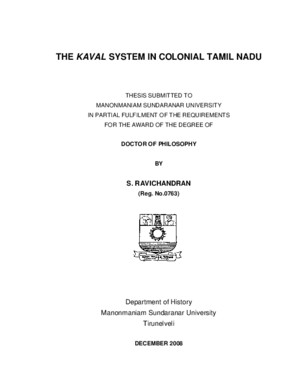 The Kaval System in Colonial Tamil Nadu