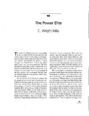 The Power Elite_final ( CWright Mills)