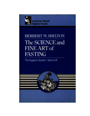 The Science and Fine Art of Fasting - Herbert M Sheltonpdf