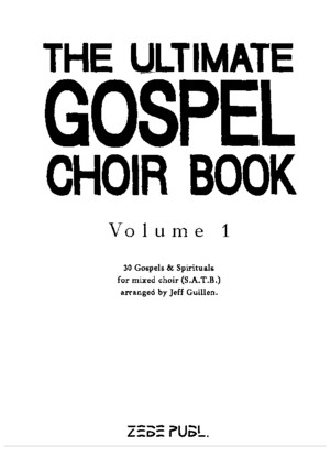 #the Ultimate Gospel Choir Book 1 (Satb)(2)