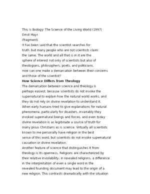 This Is Biology: The Science of the Living World (1997)