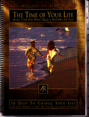 Time of Your Life - Tony Robbins - Workbook