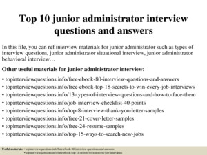 Top 10 jail administrator interview questions and answers