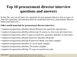 Top 10 non profit executive director interview questions and answers